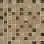 Bedrosians Kismet Stone & Crackle Glaze Blend Bliss Mosaic