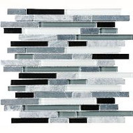 Bedrosians Eclipse Blended Vintage Mosaic Linear