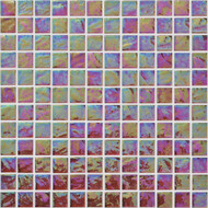 "Arizona Tile Reflections Coral 1""x 1"" Glass Tile"