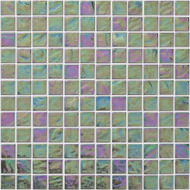 "Arizona Tile Reflections Frost 1""x 1"" Glass Tile"