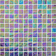 "Arizona Tile Reflections Ocean 1""x 1"" Glass Tile"