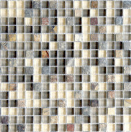 "Eleganza Tile Arizona Tempe 1/2"" x 1/2"" Glass Mosaic"