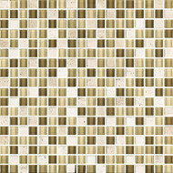"Eleganza Tile West Oscuro 1/2"" x 1/2"" Glass & Stone Mosaic"