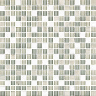 "Eleganza Tile West Tempest 1/2"" x 1/2"" Glass & Stone Mosaic"