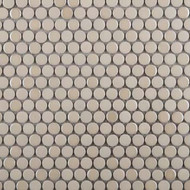 Emser Tile Confetti Cream Penny Round Mosaic W85CONFCR1212MOP