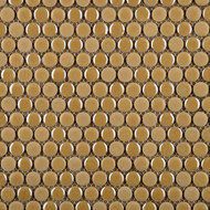Emser Tile Confetti Sand Penny Round Mosaic W85CONFSA1212MOP