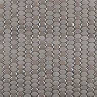 Emser Tile Confetti Silver Oval Mosaic W85CONFSI1212MOO