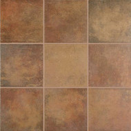 "Crossville Tile Cotto Americana Red 18"" x 18"""