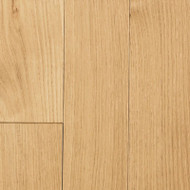 "Mullican Williamsburg Wire Brushed Plank White Oak Natural 4"" Solid Hardwood 18215"