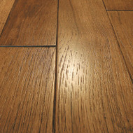 """Mullican Williamsburg Wire Brushed Plank Hickory Champagne 4"""" Solid Hardwood 18421"""