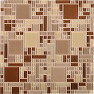 Daltile Circuit CT20 Andante 12x12 Glass Mosaic Tile