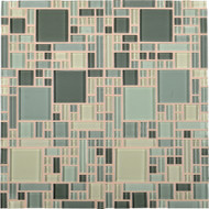 Daltile Circuit CT24 Allegro 12x12 Glass Mosaic Tile