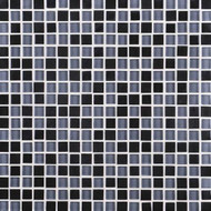 Daltile Granite Radiance GR61 Absolute Black Blend 5/8 x 5/8 Mosaic