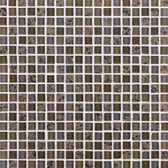 Daltile Granite Radiance GR63 Tropical Brown Blend 5/8 x 5/8 Mosaic