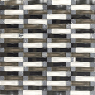 Daltile Intertwine (PTS) F175 Power Blend 5/8x2 Mosaic