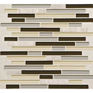 Daltile Mosaic Traditions BP97 Evening Sky 5/8x3 Brick Joint Mosaic
