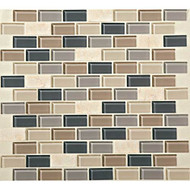 Daltile Mosaic Traditions BP99 Skyline 3/4x1-1/2 Brick Joint Mosaic