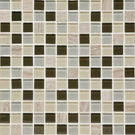 Daltile Mosaic Traditions BP97 Evening Sky 1x1 Mosaic