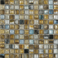 Interceramic Interglass Murano Golden-Blue Mosaic