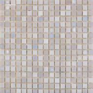 Interceramic Interglass Pearl Smoke Mosaic