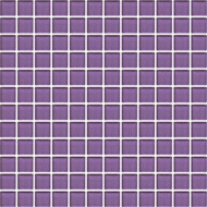 Daltile Color Wave 1x1 Vibrant Solids CW31 PURPLE MAGIC