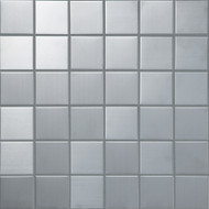 Arizona Tile Mineral Mosaic Pewter 2x2 Straight Mesh