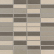 "Crossville Shades Cross-Sheen  Warm Grays 6"" x 24"""