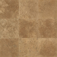 "Bedrosians Travertine Chocolate 18"" x 18"""