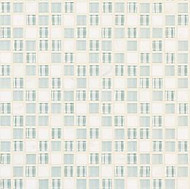 "Crossville Tile Ebb & Flow Snow and Ice 1/2"" x 1/2"" Mosaic"