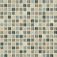 "Crossville Tile Ebb & Flow Sand and Surf 1/2"" x 1/2"" Mosaic"