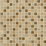 """Crossville Tile Ebb & Flow Rock and Minerals 1/2"""" x 1/2"""" Mosaic"""