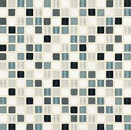 "Crossville Tile Ebb & Flow Wind and Rain 1/2"" x 1/2"" Mosaic"