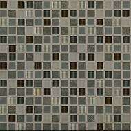 "Crossville Tile Ebb & Flow Dusk and Dawn 1/2"" x 1/2"" Mosaic"