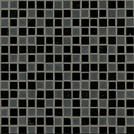"Crossville Tile Ebb & Flow Cinders and Smoke 1/2"" x 1/2"" Mosaic"