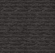 "Bedrosians Tilecrest Wave Black 12"" x 24"" Wall Tile"