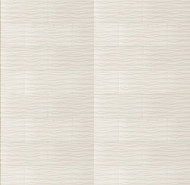 "Bedrosians Tilecrest Wave White 12"" x 24"" Wall Tile"