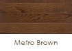 "Somerset Hardwood Color Plank Metro Brown 5"" Solid"