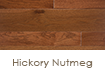 "Somerset Hardwood Specialty Hickory Nutmeg 4"" Solid"