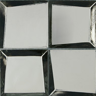 """Crossville Sideview Glass Tungsten Polished 3"""" x 3"""" SV01"""