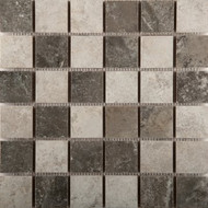 "Emser Tile Bristol Winter 2"" x 2"" Blend Mosaic"