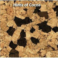 "Qu Cork Small Hints of Cocoa Cork Plank 12"" x 36"""