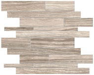 Anatolia Tile Eramosa Clay Random Strip Mosaic Rectified