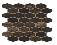Crossville Yin + Yang Tea Garden Elongated Hex Mosaic