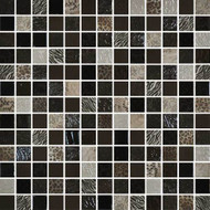 Daltile Uptown Glass Exotic Brown Mosaic