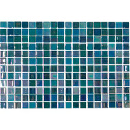 Daltile Uptown Glass Pearl Blue Mosaic