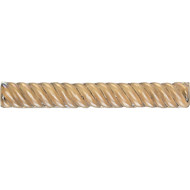 Daltile Cristallo Glass Smoky Topaz Rope