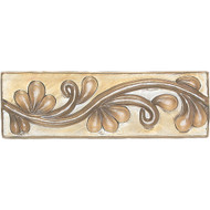 Daltile Cristallo Glass Smoky Topaz Vine