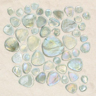 Daltile Glass Pebbles Petra Iredescent Mosaic