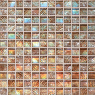 Daltile Soiree Glass Aruba Mosaic