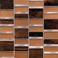Daltile Tiger Eye TE35 Java Copper Mosaic